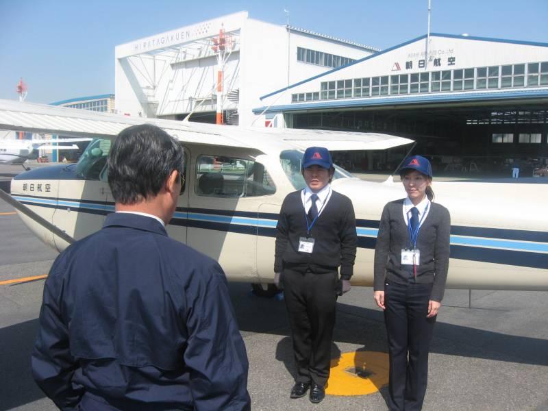 固定翼航空機「操縦教官要員」募集中