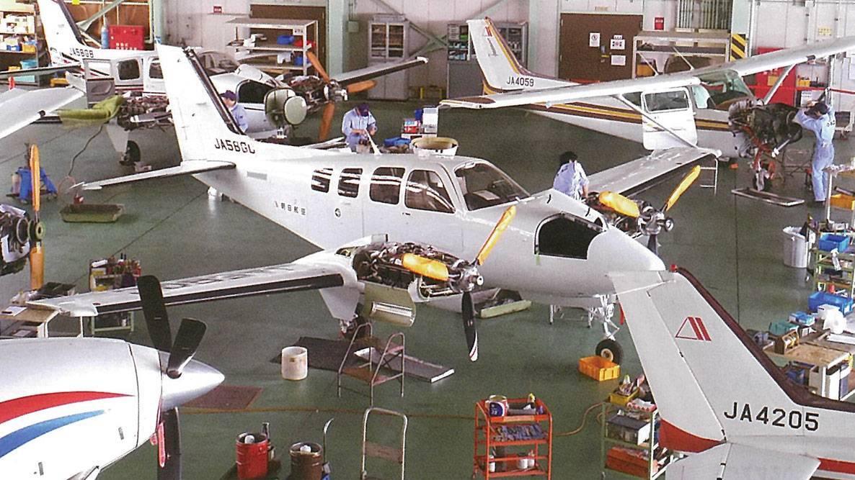 固定翼航空機「航空整備士・整備スタッフ」募集